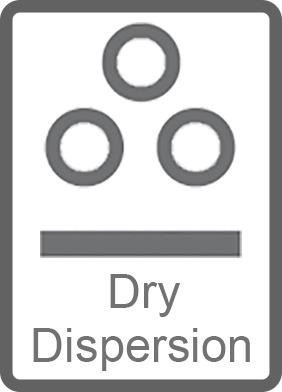 Instrumentos de dispersión seca